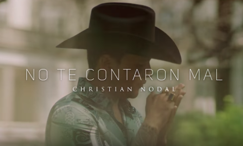 Christian nodal no te contaron mal video jg music que suene machin