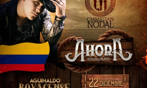 Christian Nodal Colombia